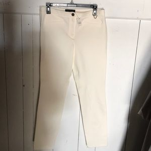 Talbots dalton winter white stretch jodhpurs pants